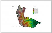 Altitud en la Cuenca del Río Iruya