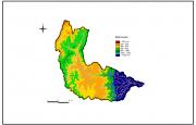 Precipitacion Anual en la Cuenca del Río Iruya